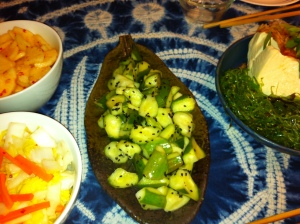 Pickled Japanese Cucumbers