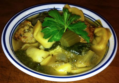Karl's Itallian Wedding Soup