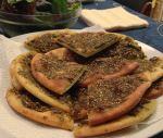 Lebanese Za'atar Pizza