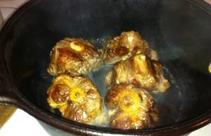 Browned Oxtails