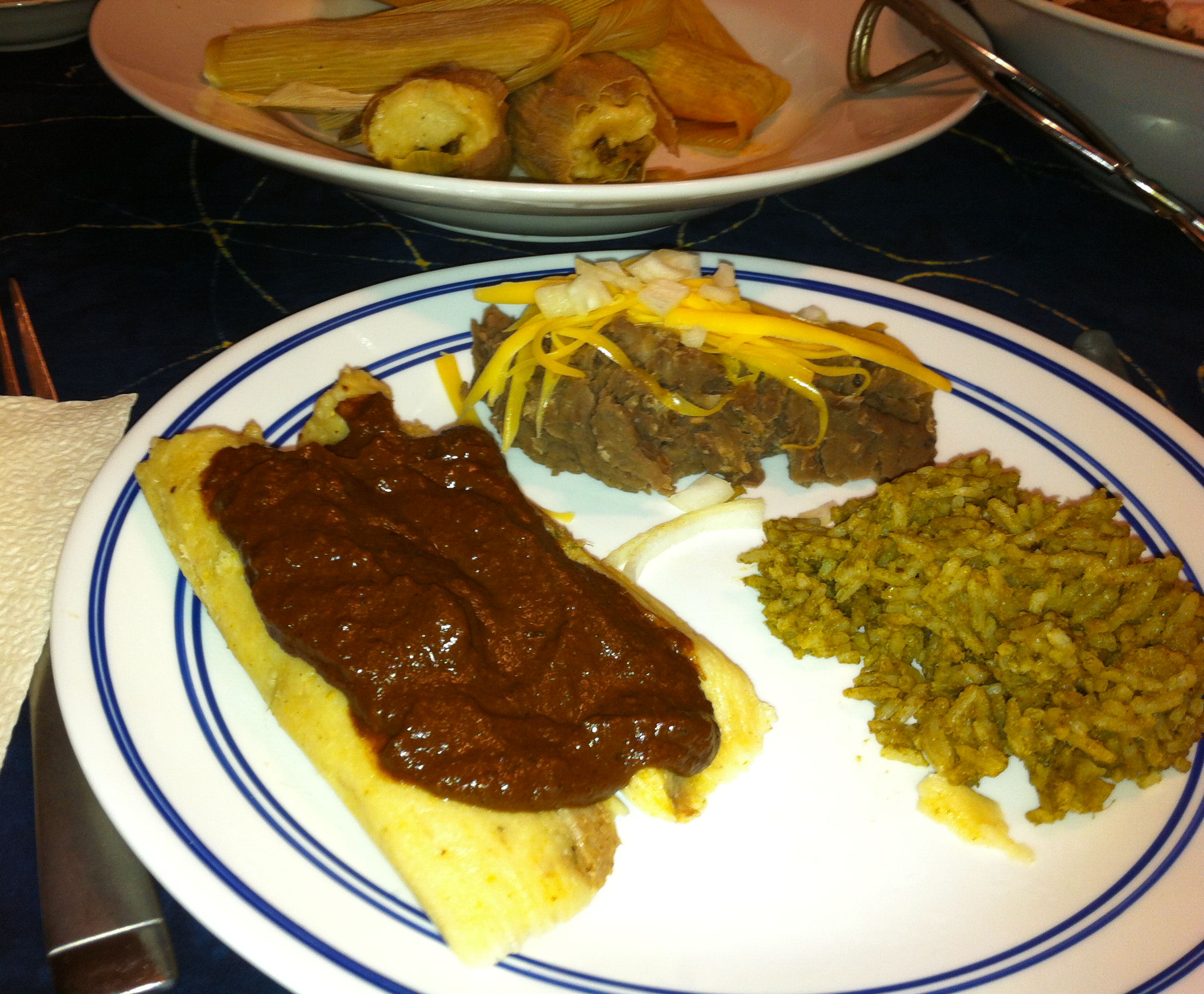 how to use store bought mole sauce