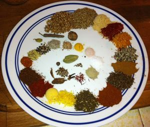 Thirty Spices Measured Out