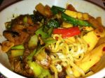 Karl's Twice Cooked Pork and Spicy Giant Bamboo and Daikon Stir-fry
