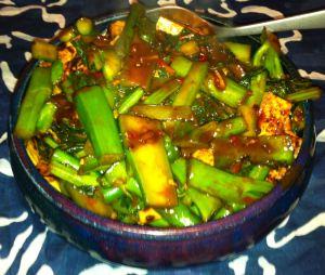 Twice-Cooked Tofu