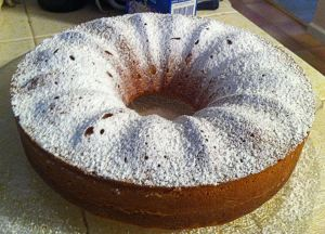 Jan's Meyer Lemon Bundt Cake