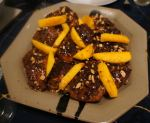 Karl's Chicken Cacao with Peanuts and Mango