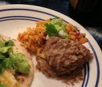 Karl's Mexican Rice and Karl's Refried Beans II