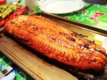 Karl's Salmon Teriyaki BBQ on a Cedar Plank