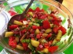 Karl's Tomato and Cucumber Salad