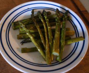 Karl's Fig Balsamic Asparagus