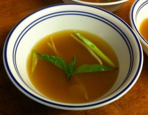 Karl's Lemongrass Clear Soup