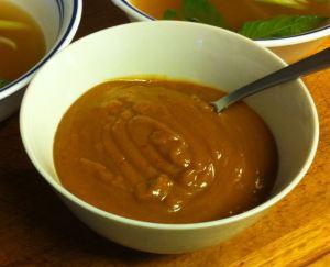 Karl's Peanut Dipping Sauce