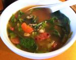 Karl's Another Cold Fighting Chicken Garlic Soup