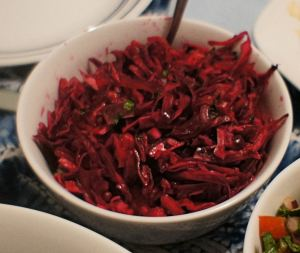 Karl's Cal Col Roja en Escabeche (Pickled Red Cabbage)