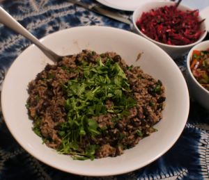 Karl's Casamiento Veracruz (Black Beans and Rice)