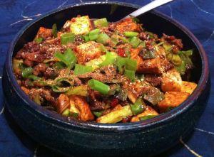 Karl's Mopo Doufu (Mapo Tofu)