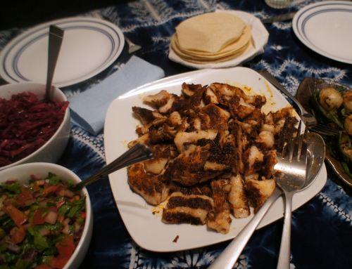 Karl's Veracruz-style Fish Tacos