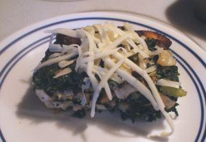 Karl's Tofu Strada with Cheese