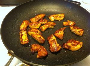 Seared Chicken