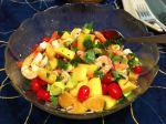 Karl's Caribbean Shrimp, Avocado and Mango Salad