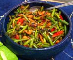 Karl's Spicy Garlic Stem, Chinese Celery and Bamboo Stir-fry
