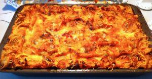 Karl's Vegetarian Lasagna uncut
