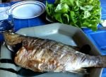 Karl's Balık Izgara Letuce Cups (Turkish Grilled Fish)