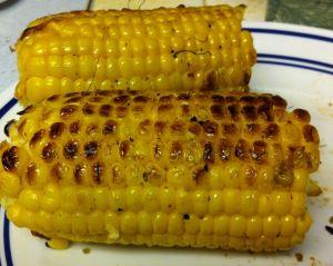 Karl's Garlic Barbequed Corn