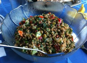Karl's Kisir (Turkish Tabouleh)