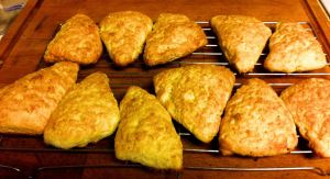 Karl's Orange-Infused American Scones