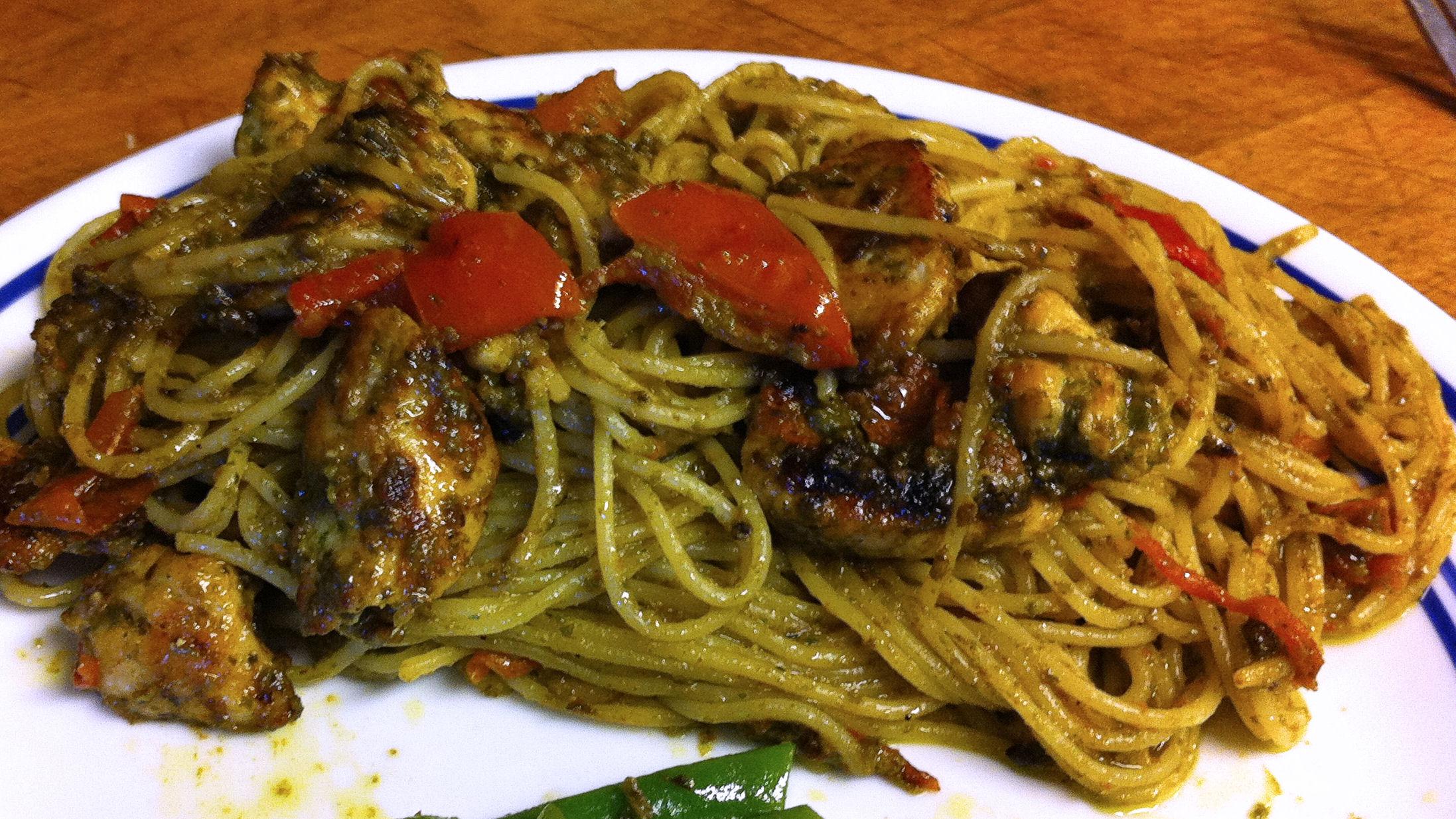 Angel hair chicken pasta recipe