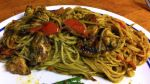 Karl's Chicken Pesto with Angel Hair Pasta