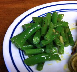Karl's Garlic Oregano Green Beans