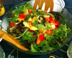 Karl's Mesclun Salad with Fig Balsamic Dressing