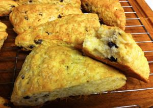 Karl's Orange-Infused American Scones with Currents