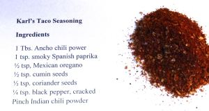Karl's Taco Seasoning