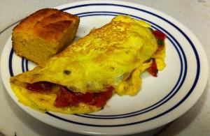 Karl's Brochette Omelette