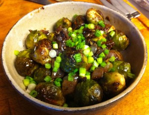 Karl's Jamaican Brussels Sprouts