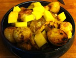 Karl's Jamaican Lime Potatoes with Green Mango