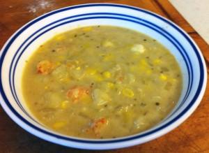 Karl's Seafood Corn Chowder 2