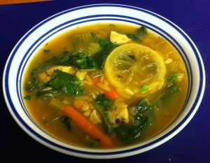 Karl's Greek Cold Fighting Chicken Soup