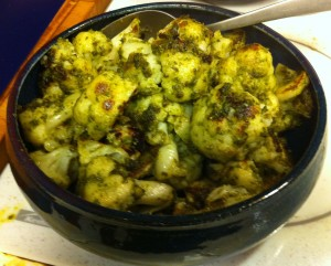 Karl's Pesto Cauliflower