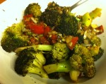 Karl's Roasted Broccoli and Tomatoes