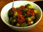 Karl's Roasted Brussels Sprouts and Tomatoes