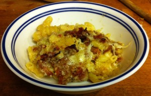 Karl's Mac & Cheese with Bacon & Cauliflower