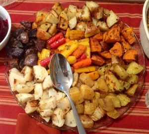 Karl's Mixed Roasties