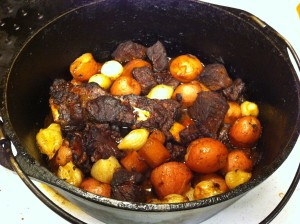 Karl's Beef Stew with Porcini and Ruby Port