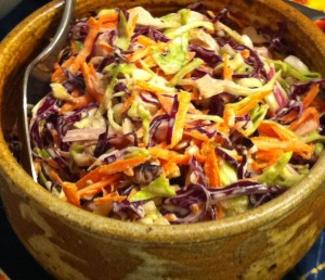 Karl's Colorful Coleslaw