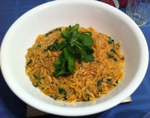 Karl's Greek Lemon Pilaf II