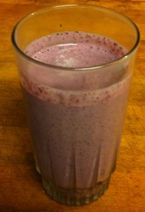 Jan's Blueberry Kale Smoothie